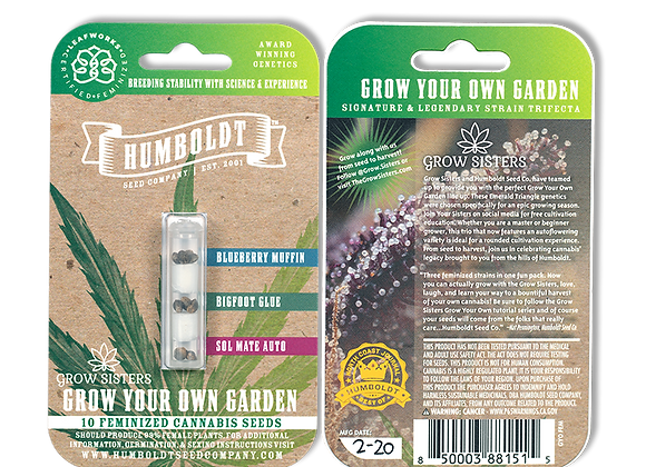 Grow Your Own Trio Seed Pack