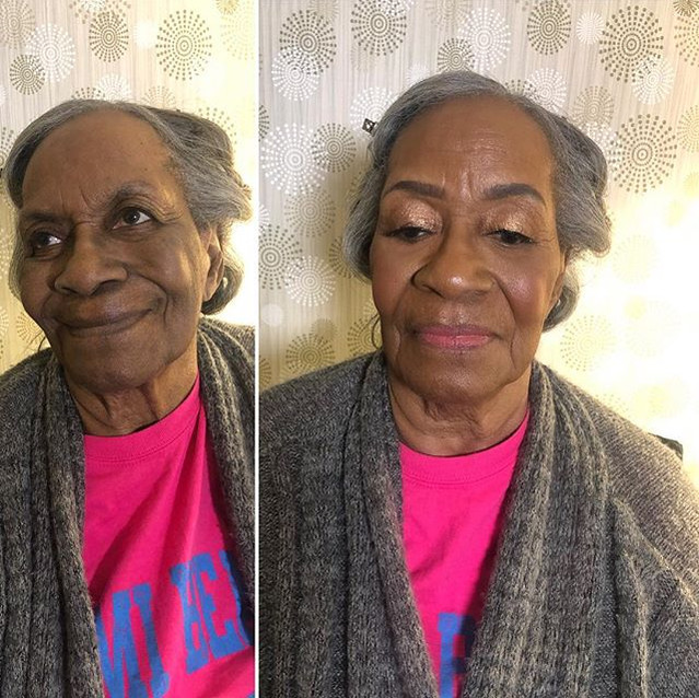 Before & After Grandmother Of the Bride,