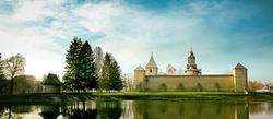 (Bucovina)Le monastère de Dragomirna