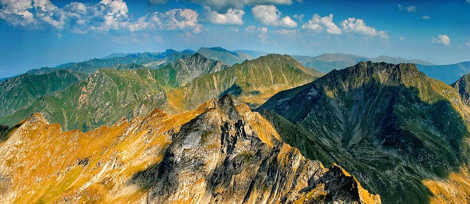 (Muntenia) Les monts Fagaras