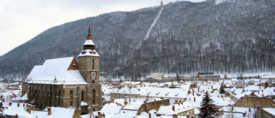 (Transilvania) L'Église noire de Brașov