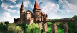 (Transilvania) Château des Corvin