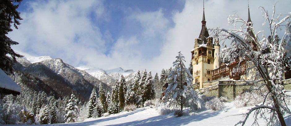 (Muntenia) Le château de Peleș