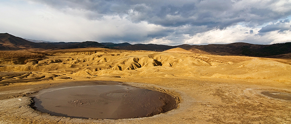 (Muntenia) Les volcans de boue de Berca