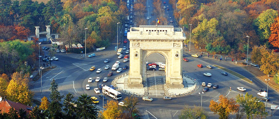 (Muntenia) L'arc de Triomphe de Bucarest