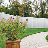 Vinyl Privacy Fence (ActiveYard's Dogwood)