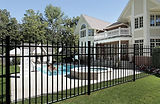Aluminum Pool Fence (ActiveYard's Slate)