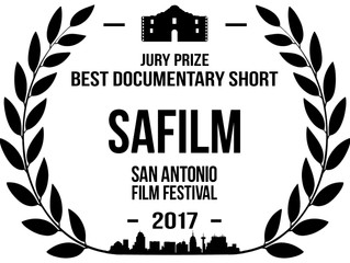 Winner, Best Documentary Short, San Antonio Film Festival