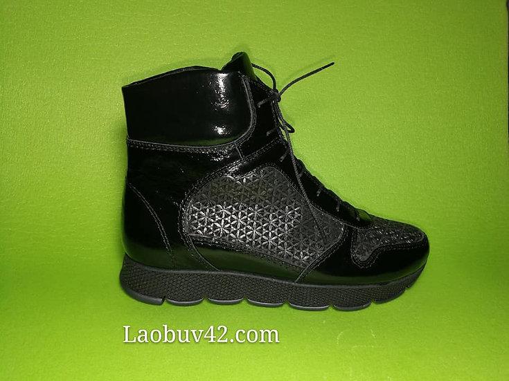 Ботинки зимние  кожа 41 размер