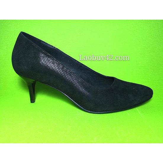Туфельки кожа-сатин 41 размер