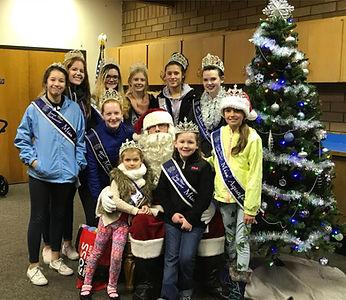 Miss Aquafest with Santa 2017 Winterfest