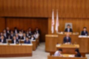 平成29年第2回定例会本会議において一般質問