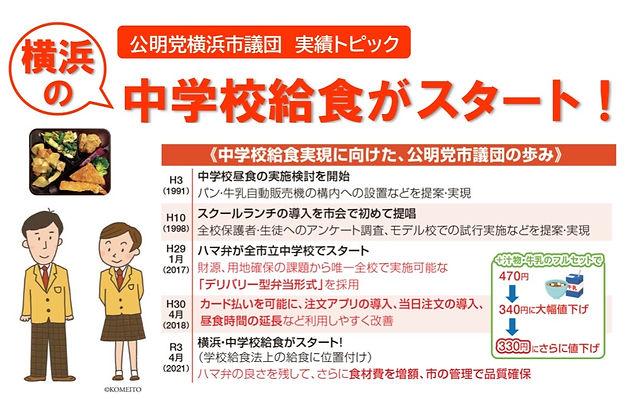 公明党横浜市会議員団の主な実績2021