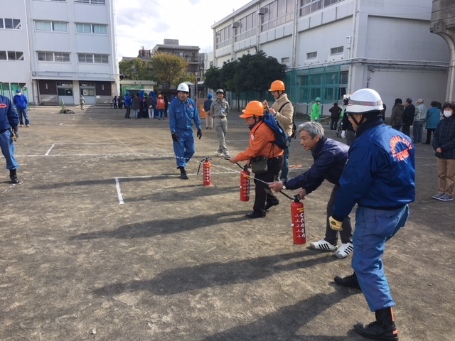 地域防災拠点訓練