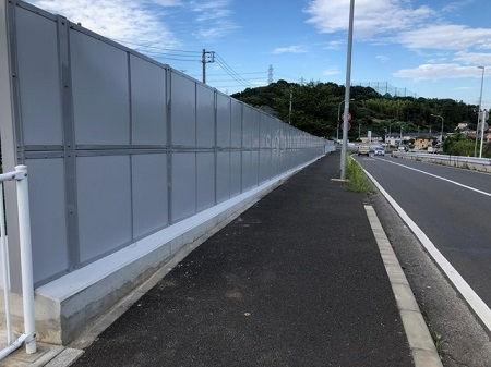 権太坂和泉線(名瀬・岡津地区)街路整備工事が完成