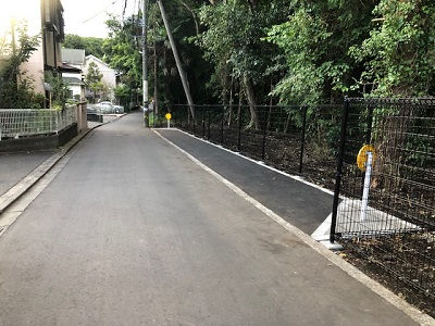 深谷、汲沢地区の狭隘道路路線改善推進