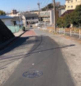 平戸台の道路保全