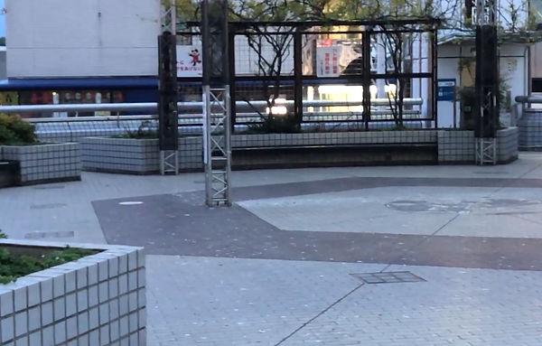 戸塚駅東口ペデストリアンデッキを視察