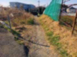2019年1月15日(火)【地域実績ビフォー&アフター】柏尾町の生活道路の整備要望箇所を視察!