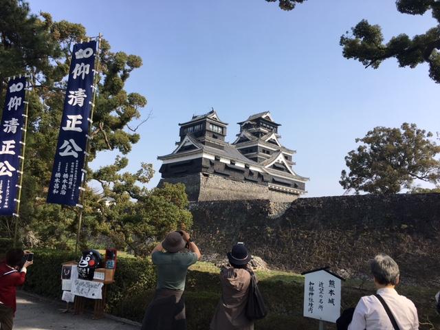 熊本大震災後の現場を視察