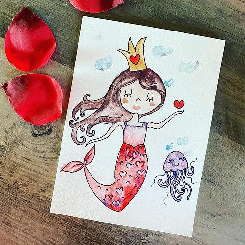 Mermaid Valentine