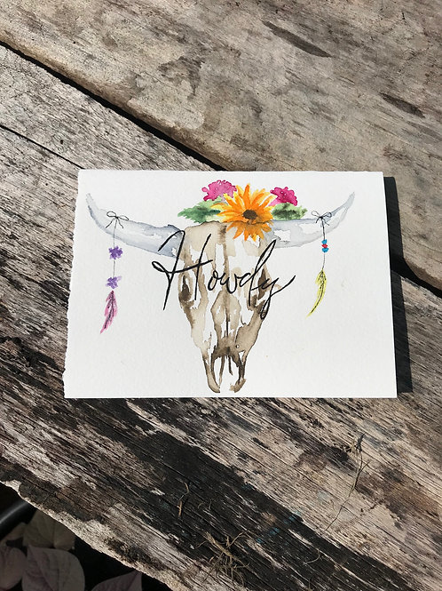 Howdy notecard
