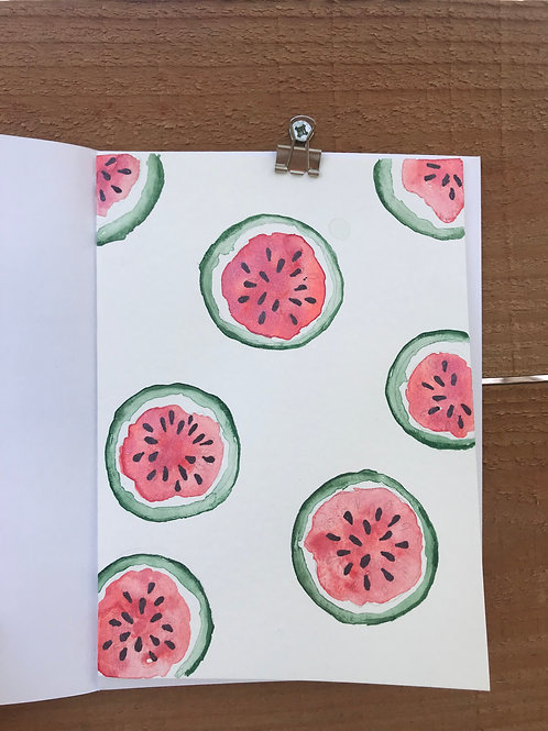 Watermelons Notecard