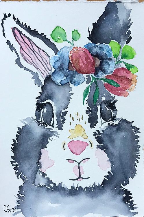 Spring Bunny 4x6