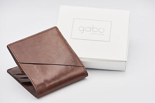 Gabo Szerencses // Y kis pénztárca gesztenyebarna