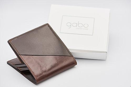 Gabo Szerencses // Y kis pénztárca 'barna a négyzeten'