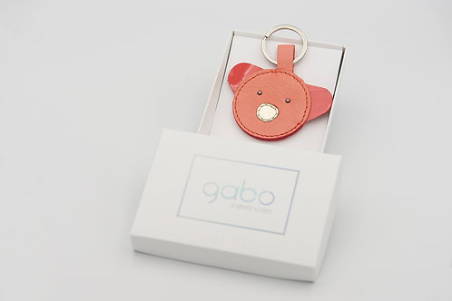 Gabo Szerencses // Korall macis kulcstartó