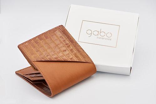 Gabo Szerencses // Y kis pénztárca rozsdabarna