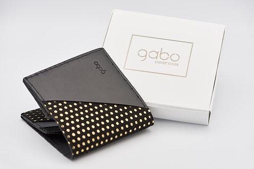Gabo Szerencses // Y kis pénztárca fekete-arany