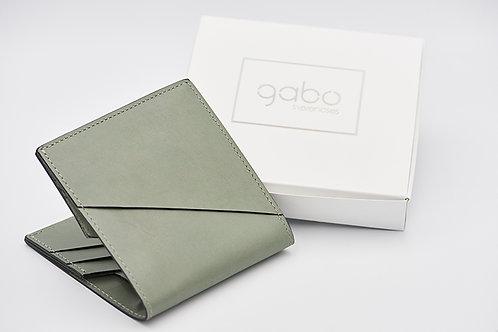 Gabo Szerencses // Y kis pénztárca cementzöld