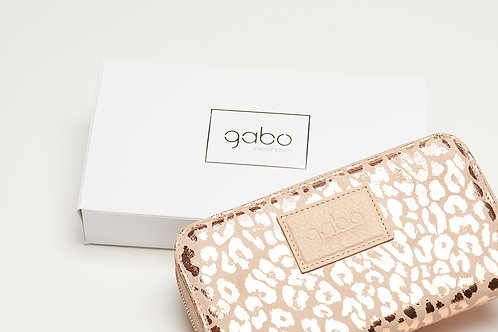 Gabo Szerencses // Nagy pénztárca rozé párduc