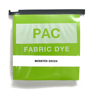 PAC FABRIC DYE col.15 MONSTER GREEN(モンスターグリーン)
