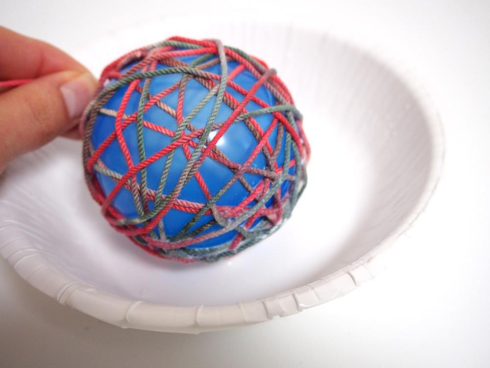 ヤーンボール ハンドメイド 作り方
