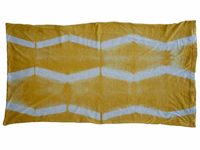 itajime shibori pillowcase