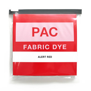 PAC FABRIC DYE col.01 ALERT RED(アラートレッド )