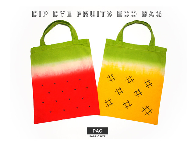 スイカ パイナップル エコバッグ