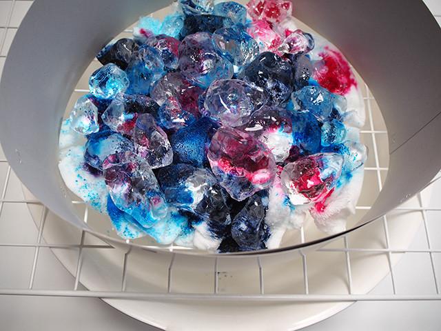 ice dye アイスダイ 染め方