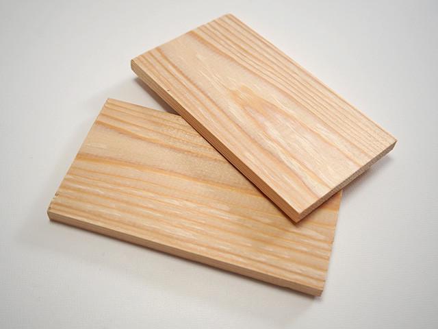 板締め絞り 木の板