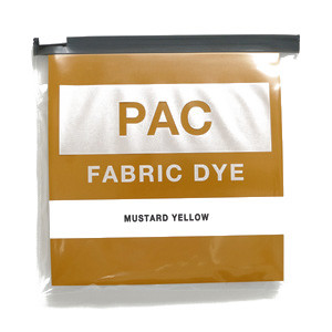 PAC FABRIC DYE col.05 MUSTARD YELLOW(マスタードイエロー )