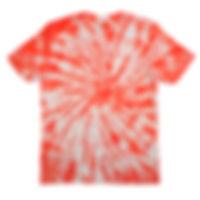 新色VERMILIONでTシャツをタイダイ