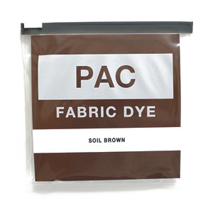 PAC FABRIC DYE col.06 SOIL BROWN(ソイルブラウン)