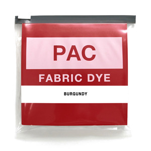 PAC FABRIC DYE col.22  BURGUNDY(バーガンディ)