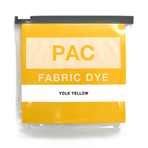 PAC FABRIC DYE col.09 YOLK YELLOW(ヨークイエロー )