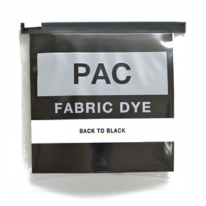 PAC FABRIC DYE col.12 BACK TO BLACK(バックトゥーブラック)