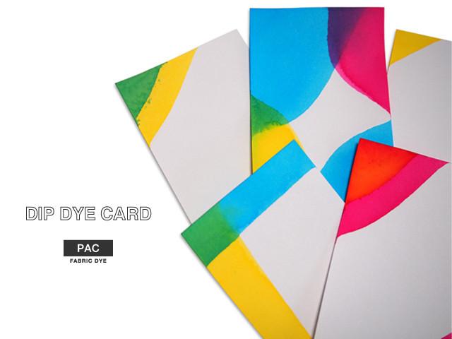 DIP DYE Cards ハンドメイド カード