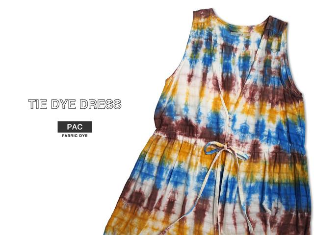 タイダイワンピース tie dye dress